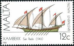 Malta 1982 Maltese Ships (1st Series) c