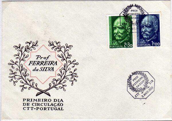 Portugal 1956 Birth Centenary of Ferreira da Silva c