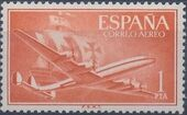 Spain 1955 Plane and Caravel (1st Group) b