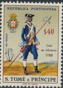 St Thomas and Prince 1965 Military Uniforms b