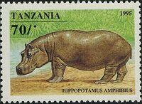 Tanzania 1995 African Hoofed-animals a