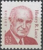 United States of America 1998 Great Americans Issue - Henry R. Luce a
