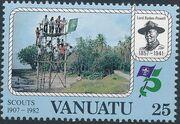 Vanuatu 1982 75th Anniversary of Boy Scout Movement c