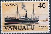 Vanuatu 1984 Ausipex '84 - Ships b