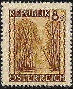 Austria 1945 Landscapes (I) d