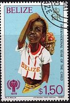 Belize 1980 International Year of the Child e
