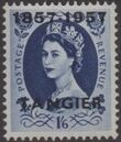 British Offices in Tangier 1957 Centenary Overprint (1857-1957) q