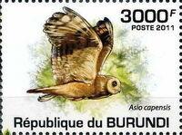Burundi 2011 Owls of Burundi c