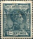 Elobey, Annobon and Corisco 1907 King Alfonso XIII e