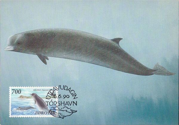 Faroe Islands 1990 WWF - Whales t