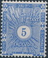 French Somali Coast 1915 Postage Due Stamps a