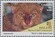Grenada Grenadines 1995 100th Anniversary of Sierra Club - Endangered Species d