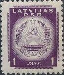 Latvia 1940 Arms of Soviet Latvia a