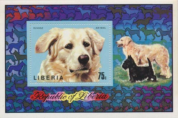 Liberia 1974 Dogs Sa