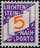 Liechtenstein 1928 Postage Due Stamps (Swiss Administration of the Post Office) a