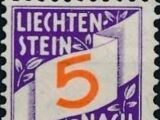 Liechtenstein 1928 Postage Due Stamps (Swiss Administration of the Post Office)