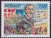 Monaco 1997 700th Anniversary of the Grimaldi Dynasty - 1st Serie m