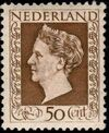 Netherlands 1948 Queen Wilhelmina - Type Hartz g
