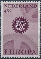 Netherlands 1967 Europa - CEPT b