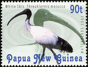 Papua & New Guinea 2001 Waterbirds c