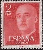 Spain 1955 General Franco l