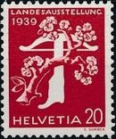 Switzerland 1939 National Exposition of 1939 g