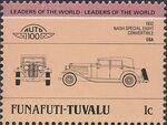 Tuvalu-Funafuti 1985 Leaders of the World - Auto 100 (2nd Group) e