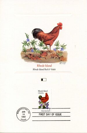 United States of America 1982 State birds and flowers FOLe3