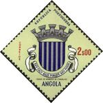 Angola 1963 Coat of Arms - (1st Serie) g