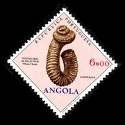Angola 1970 Fossils and Minerals from Angola k