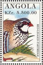 Angola 1996 Hunting Birds k