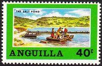 Anguilla 1969 Salt Industry c