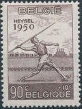 Belgium 1950 European Athletic Games b