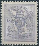 Belgium 1951 Heraldic Lion (1st Group) a