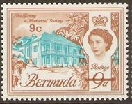 Bermuda 1970 Definitive Issue of 1962 Surcharged g
