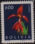 Bolivia 1962 Flowers c