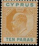 Cyprus 1906 King Edward VII a