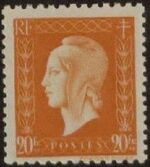 France 1945 Marianne de Dulac (2nd Issue) r