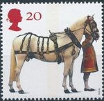 Great Britain 1997 50th Anniversary of the British Horse Society a