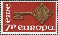 Ireland 1968 Europa a