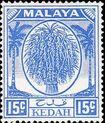 Malaya-Kedah 1950 Definitives h