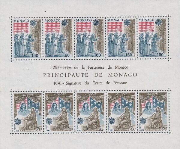 Monaco 1982 EUROPA c