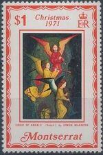 Montserrat 1971 Christmas d