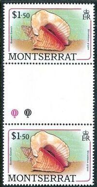 Montserrat 1988 Sea Shells gl