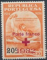 Portugal 1932 Red Cross - 400th Birth Anniversary of Camões a