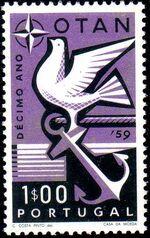 Portugal 1960 10th Anniversary of NATO a