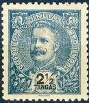 Portuguese India 1903 D. Carlos I - New Colours and Values i