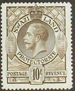 Swaziland 1933 George V j