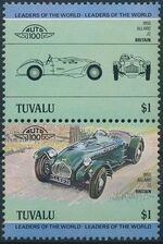 Tuvalu 1984 Leaders of the World - Auto 100 (1st Group) d