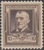 United States of America 1940 Famous Americans - Poets e